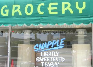 Awning Lettering, Grocery, Los Angeles
