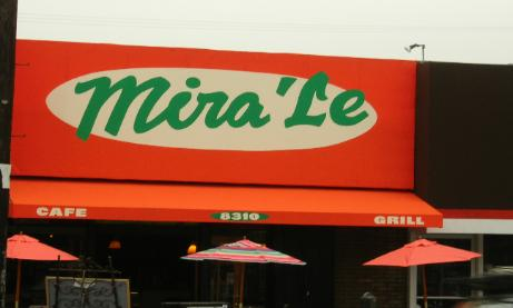 Awning Lettering, Mira Le, W Hollywood